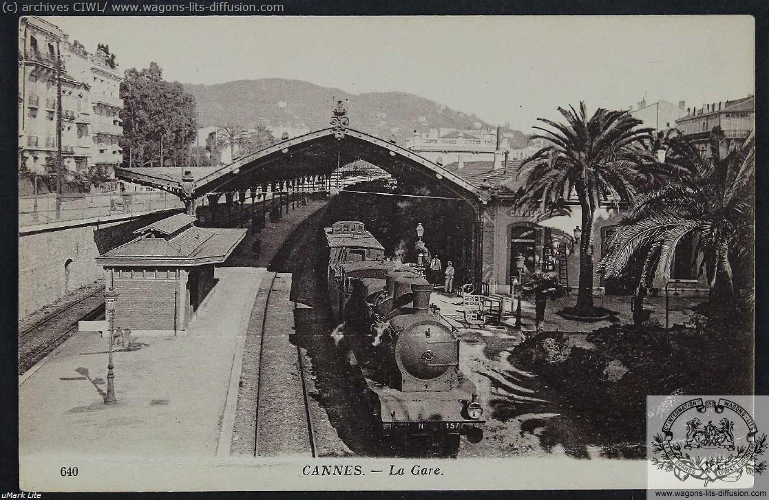 PLM Gare de Cannes CP