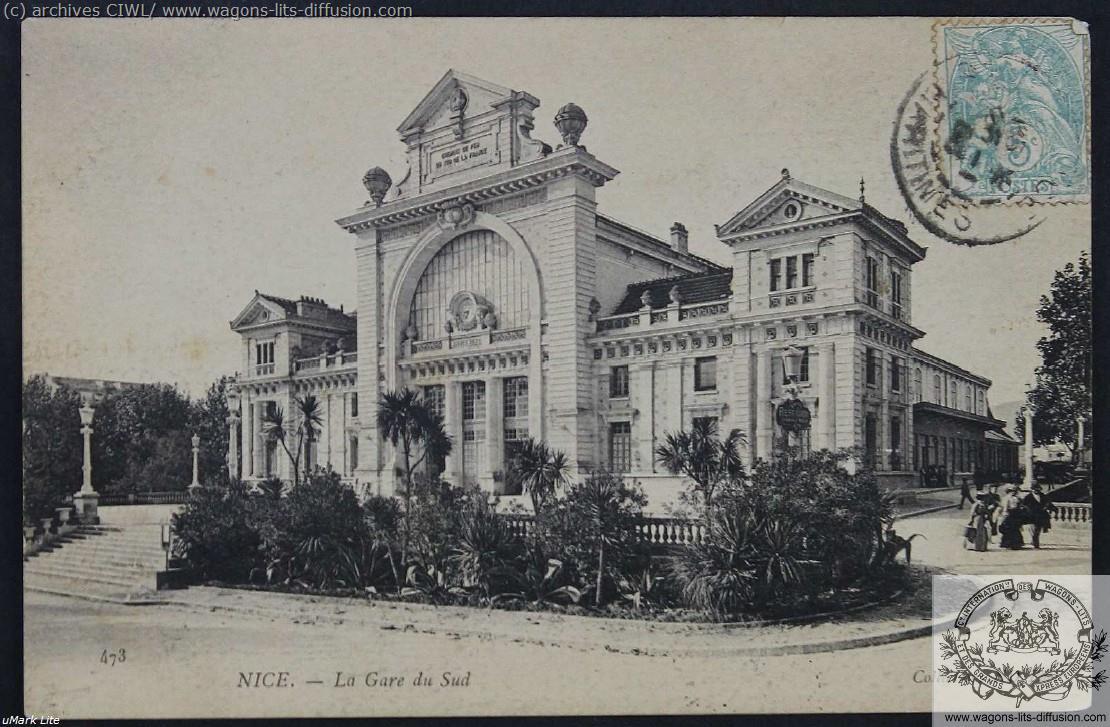 PLM Gare de Nice Sud CP