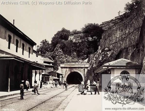 Plm gare de vienne 1861
