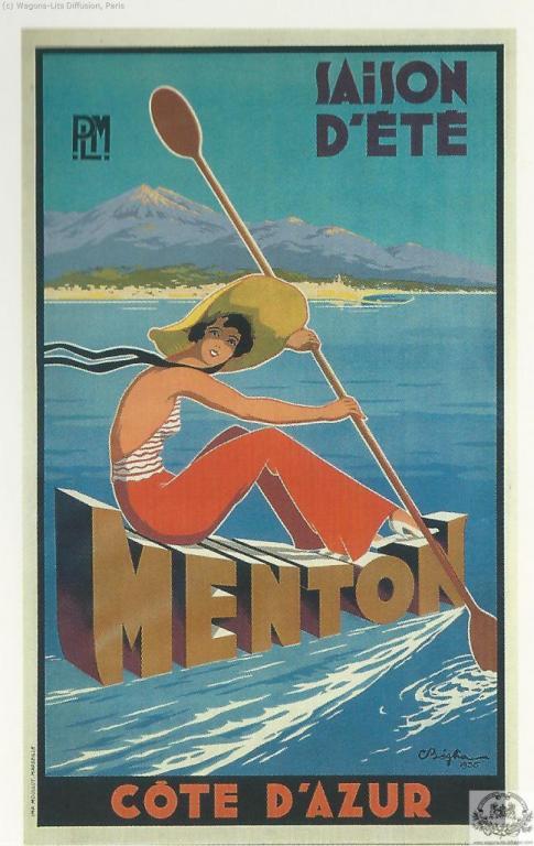 PLM Menton Cote Azur stations d Eté