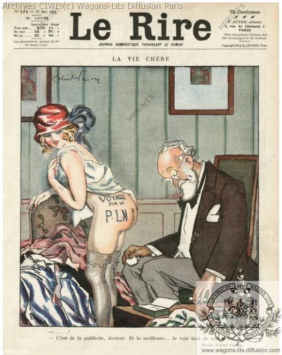 Plm pub humoristique 1922