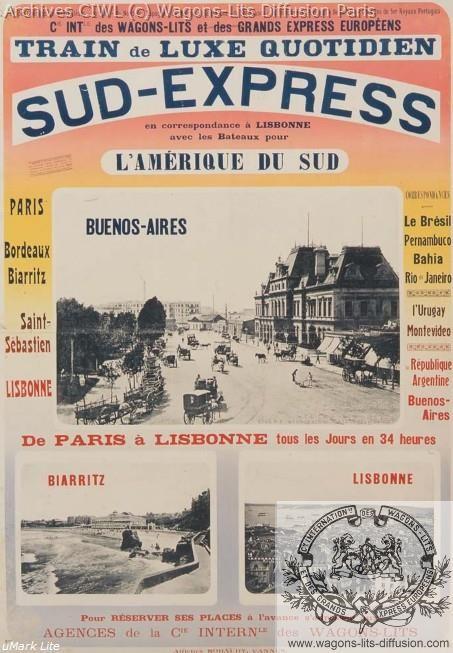 Wl affiche sud express