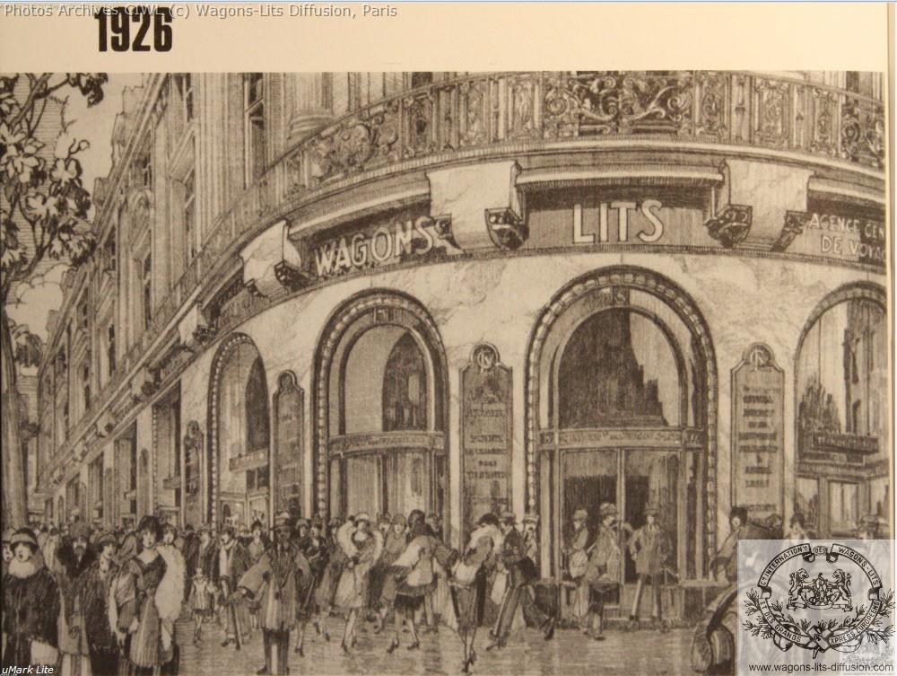 Wl agence opera en 1926