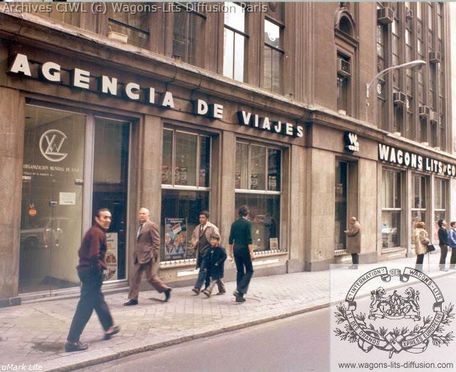 Wl agence voyage madrid 1971