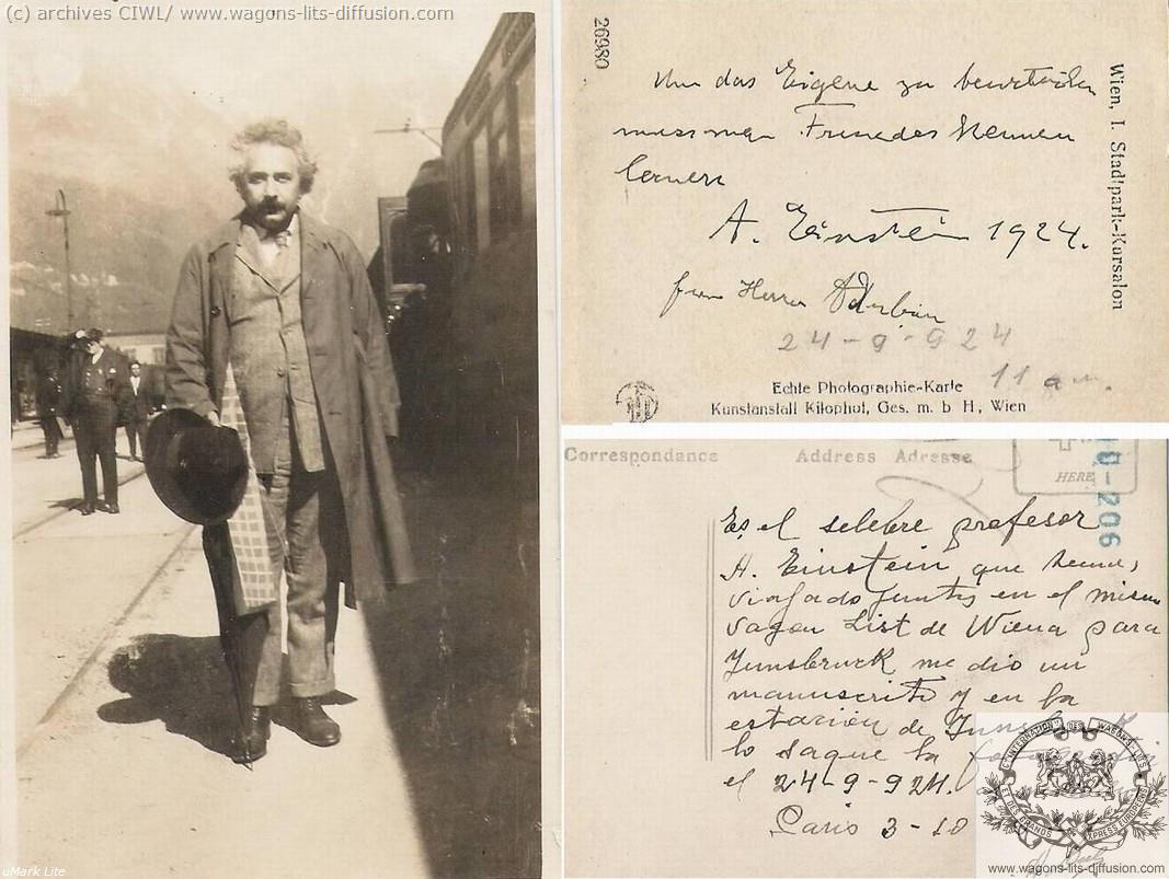 WL Albert Einstein Wien insbruck 1924 (2)