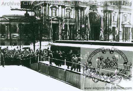Wl armistice wagon 2419 exposed in berlin 1940
