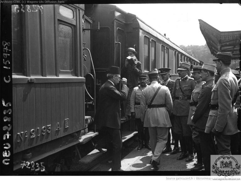 Wl arrivee de la mission turque vaucresson 1919