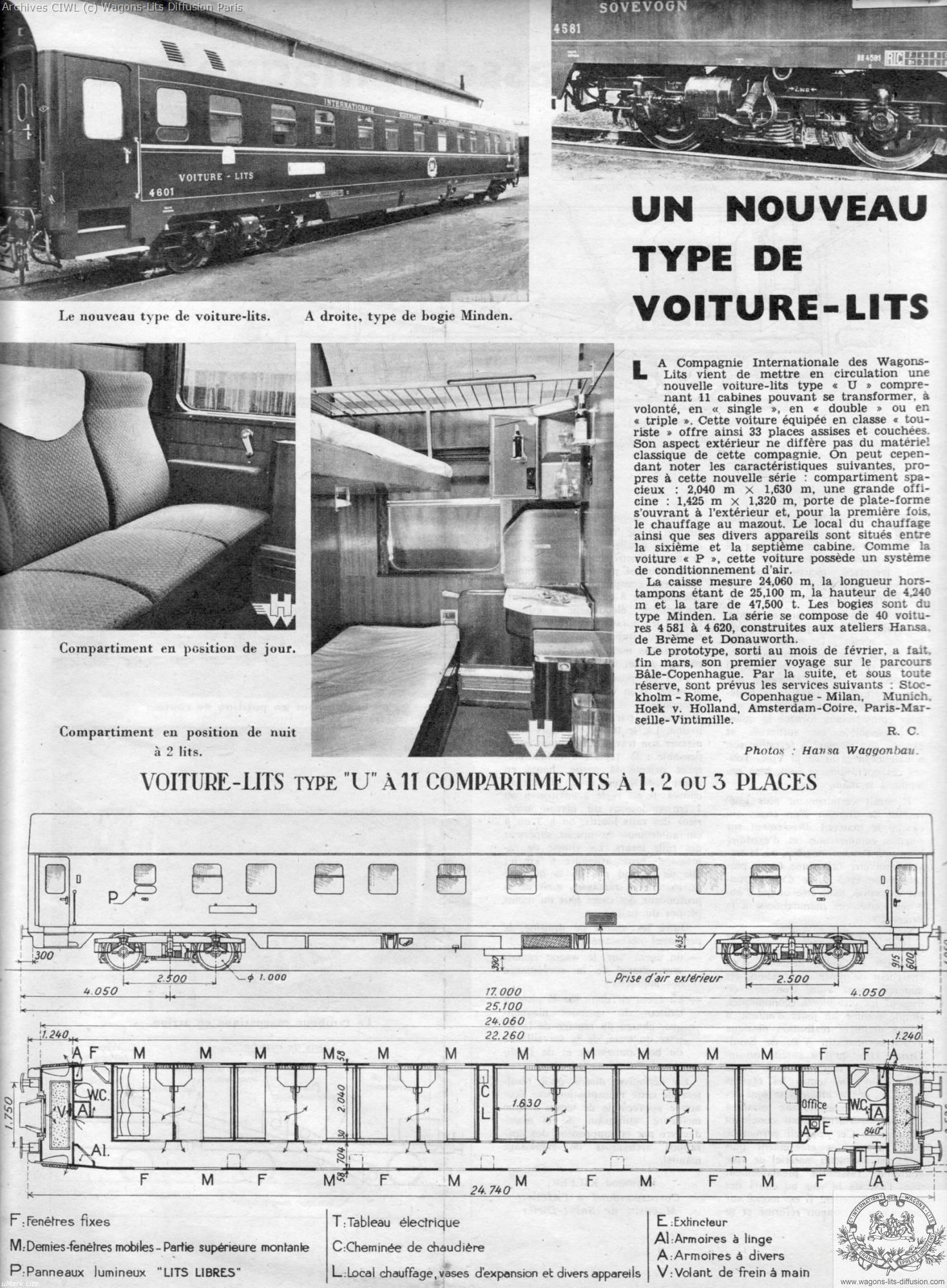 Wl article sur voiture u 1961