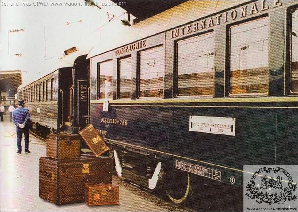 WL bagage vuitton et CIWL