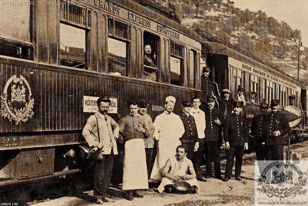 Wl brigade mediterranee express vintimille 1921 cp
