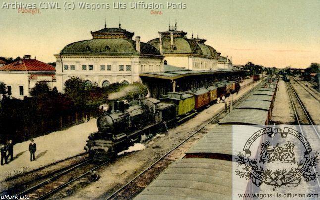 Wl convoi orient express roumanie vers 1891