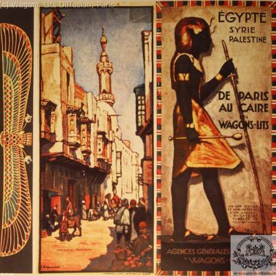 WL de Paris au Caire en WL