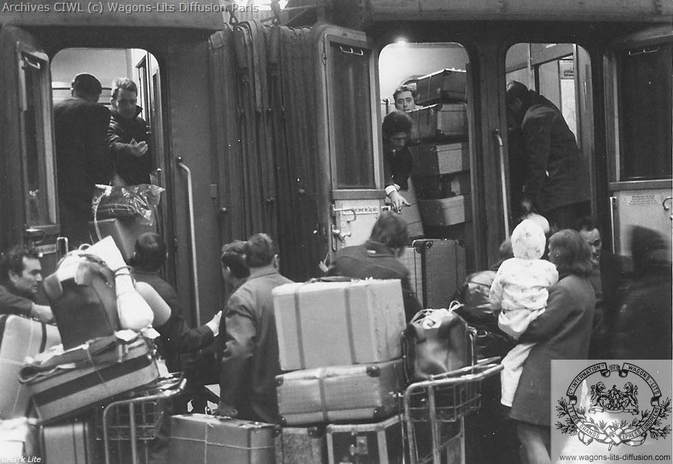 Wl embarquement a quai 1965