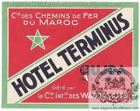 WL etiquette bagages maroc