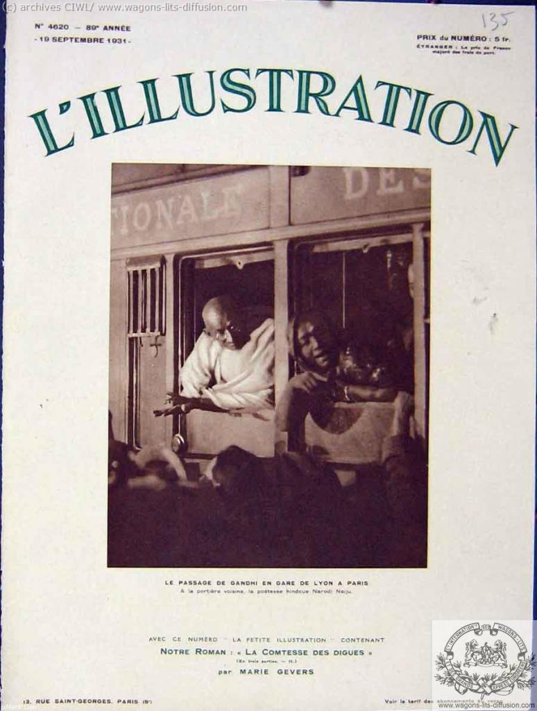 WL gandhi l'illustration 1931
