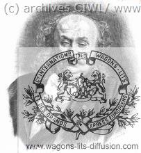 WL Henri Opper de Blowitz voyage inaugural OE 1883
