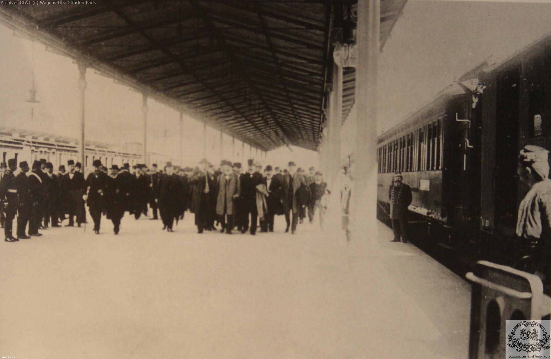 Wl inaugural train berlin constantinople 1900