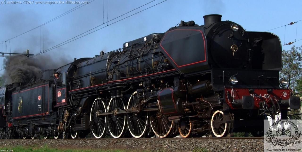 WL loco france OE 241 65 en 1931