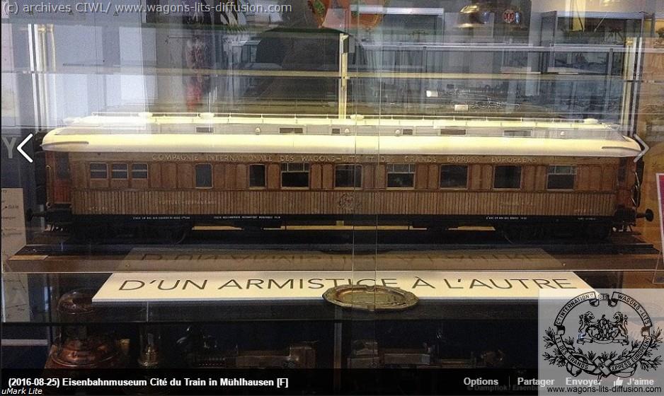 WL maquette voiture 4219 armistice Mulhouse