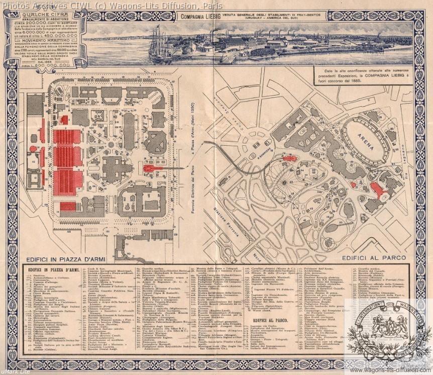 Wl milan map expo 1906
