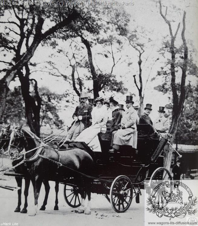 Wl nagelmackers au bois de boulogne vers 1895