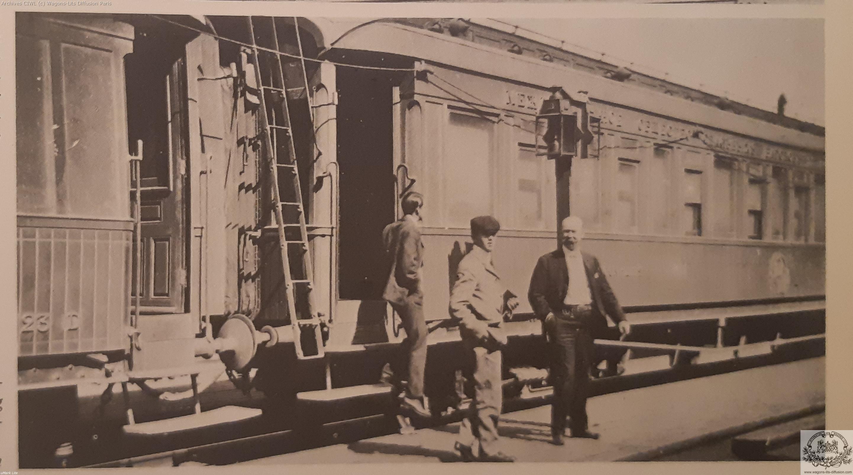 Wl nord express en 1900 entre virbalen et st petersbourg vl n 713 a 718