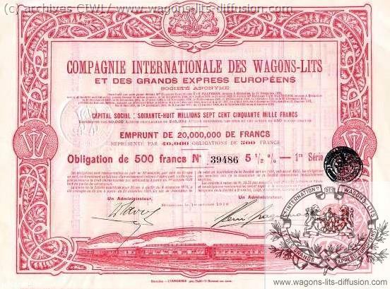 WL obligation WL vers 1905