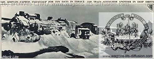WL Orient Express bloqué neige