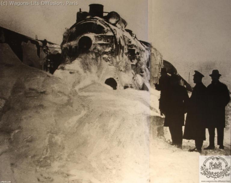 WL Orient Express bloqué par la neige