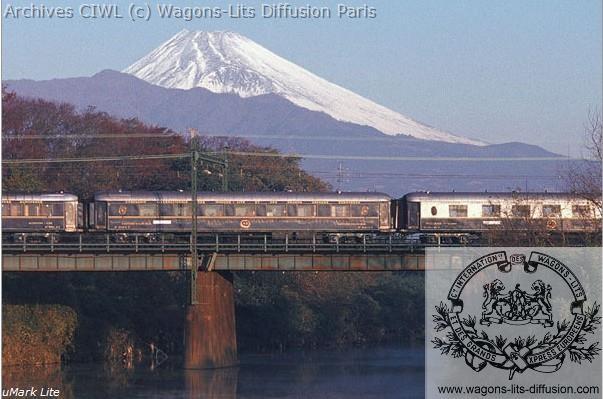Wl orient express fuji japon 1989