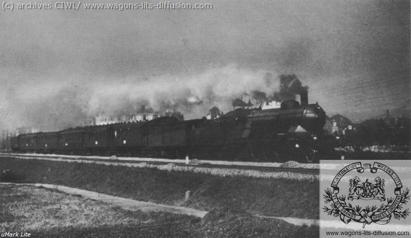 WL Orient Express Ostende Vienne 1920