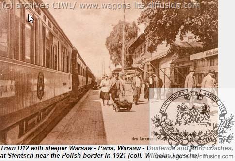 WL PARIS VARSOVIE 1921