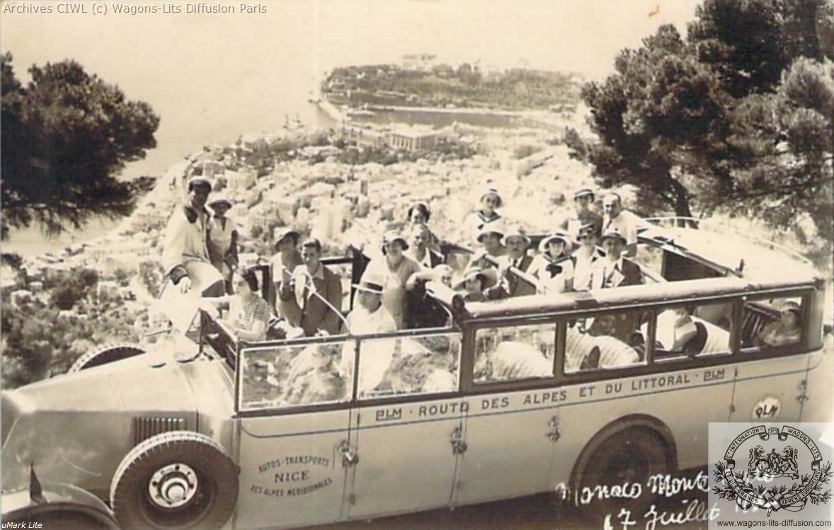 Wl plm autocar route des alpes 1934