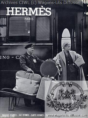 Wl pub hermes luggage 1952 pullman wagons lits