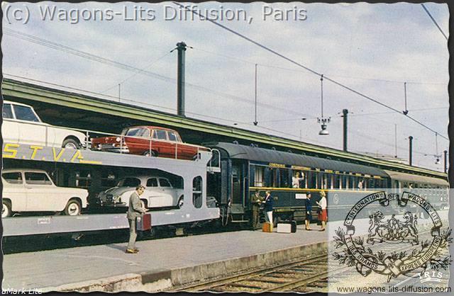 WL publicité Train Auto WL