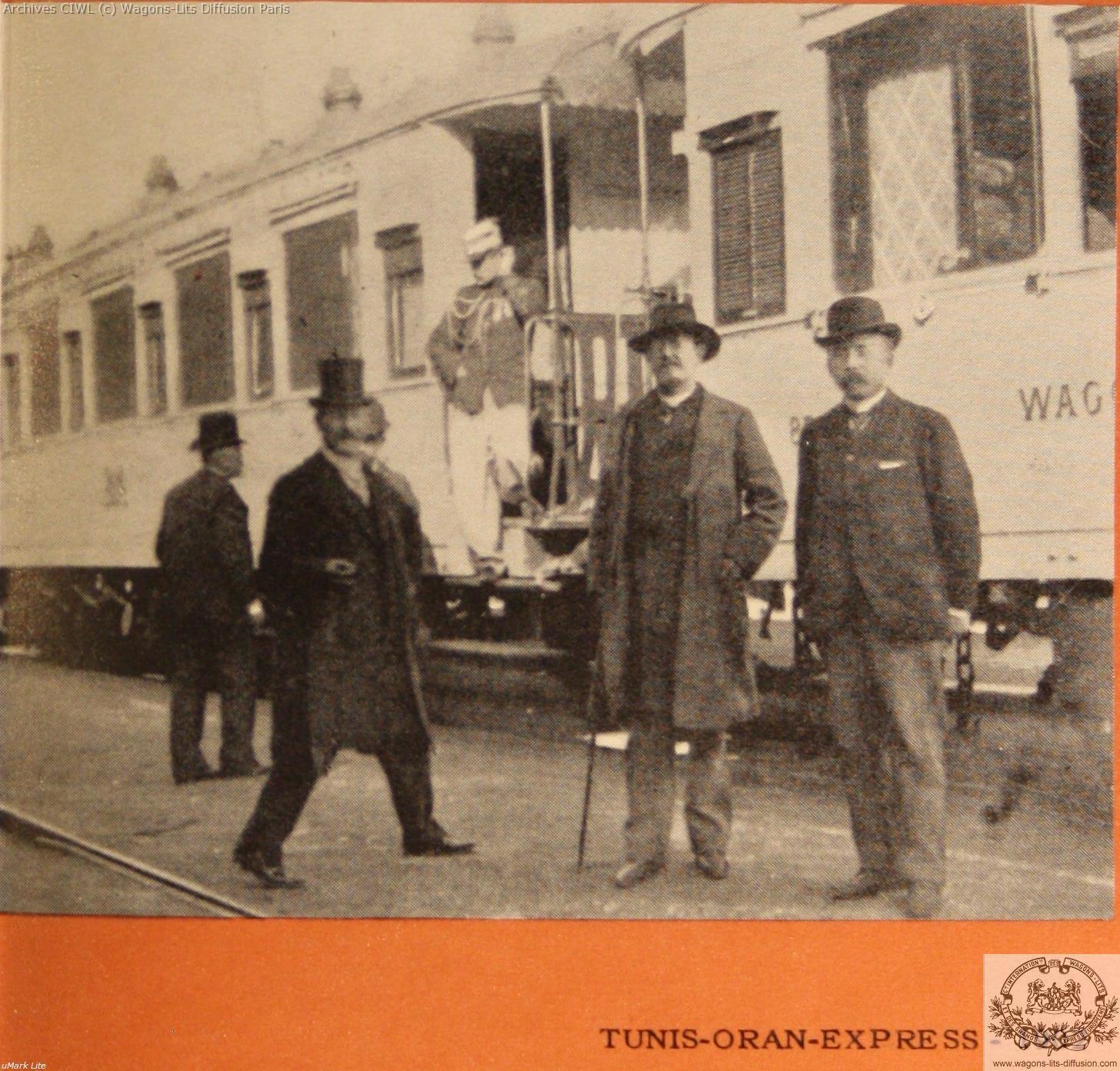 Wl tunis oran express 1902
