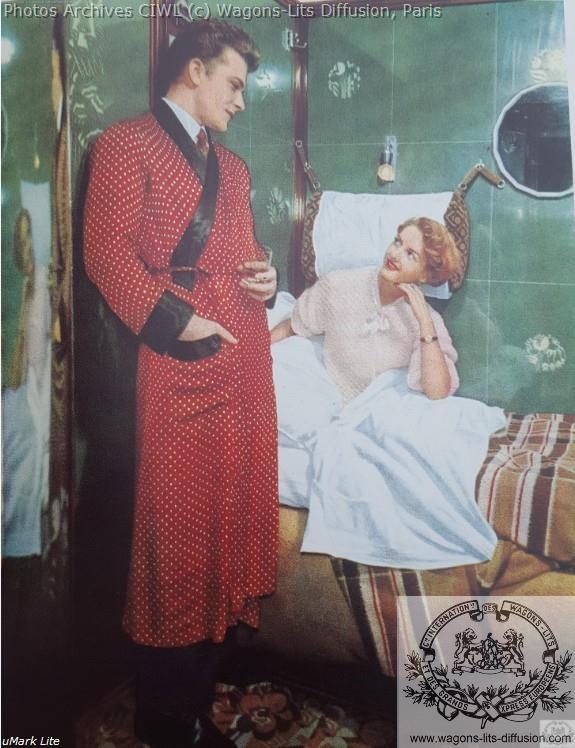 Wl voiture lit pub 1950