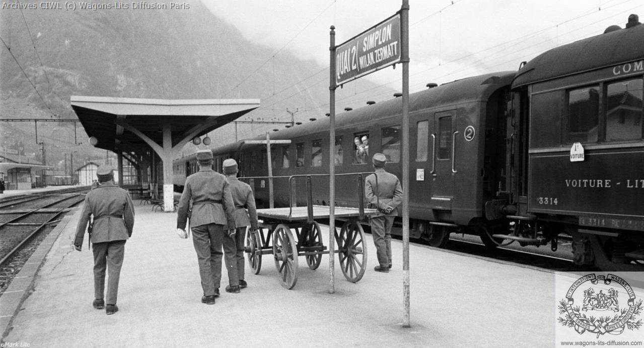 Wl voiture lit vl type z 1950 simplon orient express
