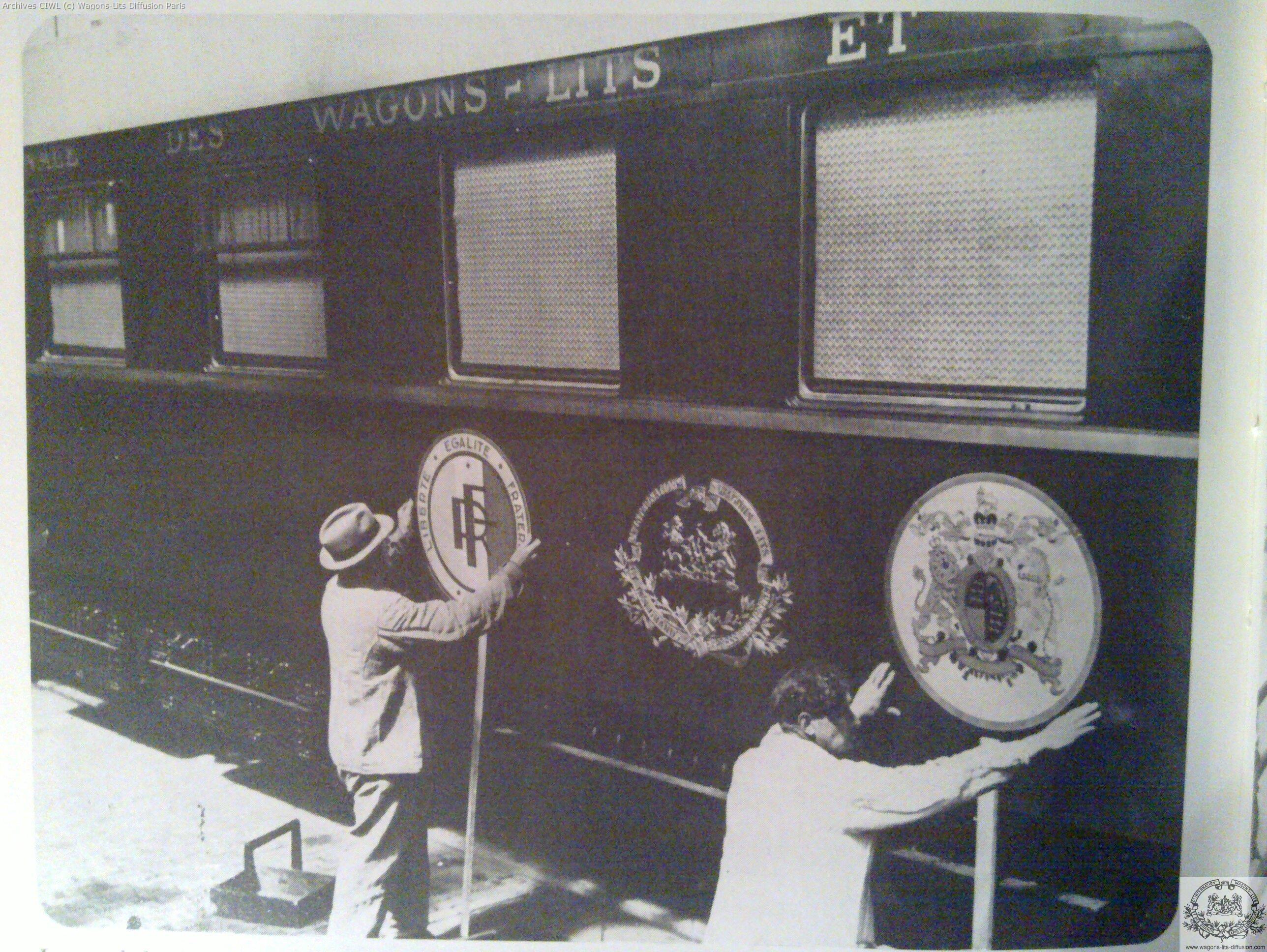 Wl voyage de georges i en 1937