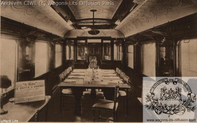 Wl wagon armistice 1