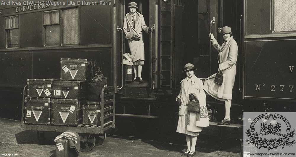 Wl wagons lits pub vuitton 1920